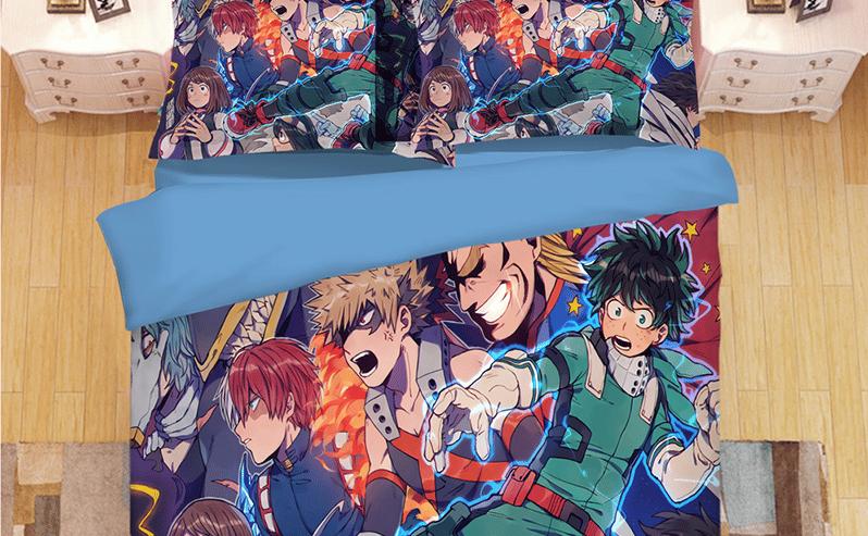 Parure de lit manga