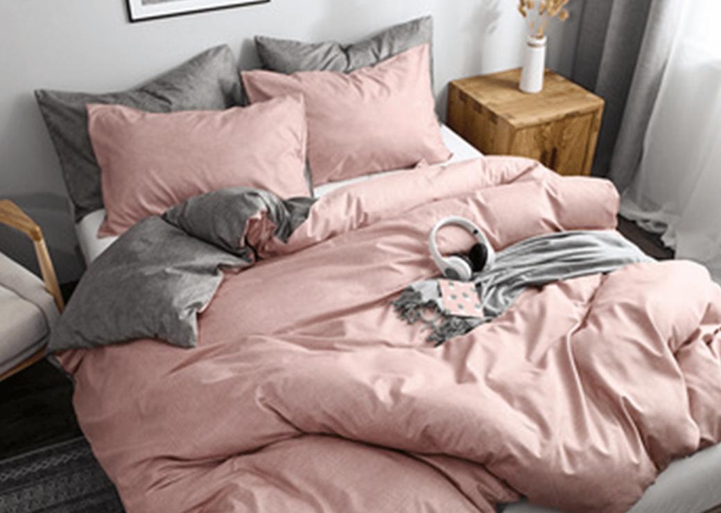 rose et grise