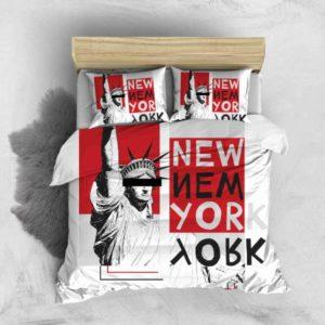 Parure de lit New York Statue